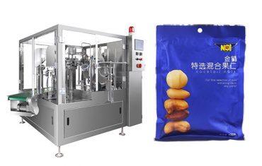 vorgefertigte Beutel Lebensmittel Granulat Füllung Verpackungsmaschine