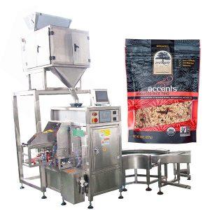 Automatische Füll- und Verschließmaschine für Kaffeepulver