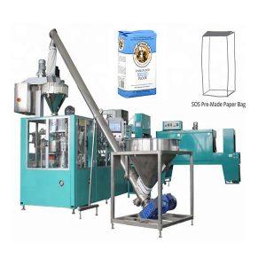 Automatische vorgefertigte Papiertüte Verpackungsmaschine