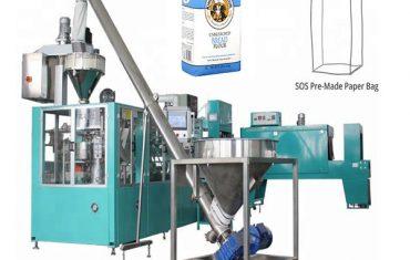automatische Papierbeutel Verpackungslinie für Mehl