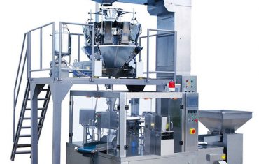 automatische Kaffeebohnennahrungsmitteldrehreißverschlußbeutelverpackungsmaschine