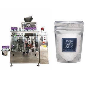 Automatische rotierende vorgefertigte Beutel-Verpackungsmaschine für Salz