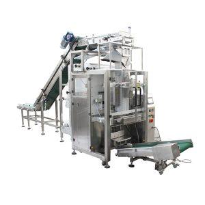 Beutel in der Beutelverpackungsmaschine