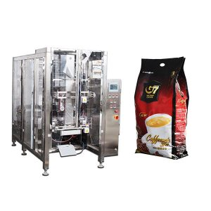 Kaffee-Quad-Beutelform füllen Siegelverpackungsmaschine