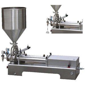 Doppelkopf-Kolbenfüller für viskose Flüssigkeit