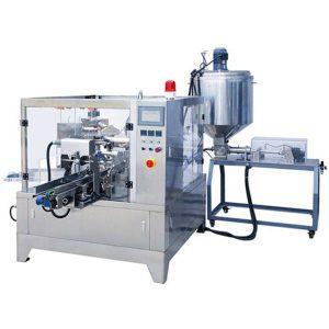 Vorgefertigte Beutel Liquid & Paste Verpackungsmaschine