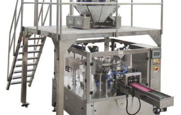 drehbare automatische Reißverschlussbeutelfüllungsdichtungs-Verpackungsmaschine für Samen Nüsse