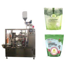 Rotary Laundry Liquid vorgefertigte Beutel Verpackungsmaschine