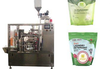 Waschflüssigkeit rotary vorgefertigte Beutel Verpackungsmaschine
