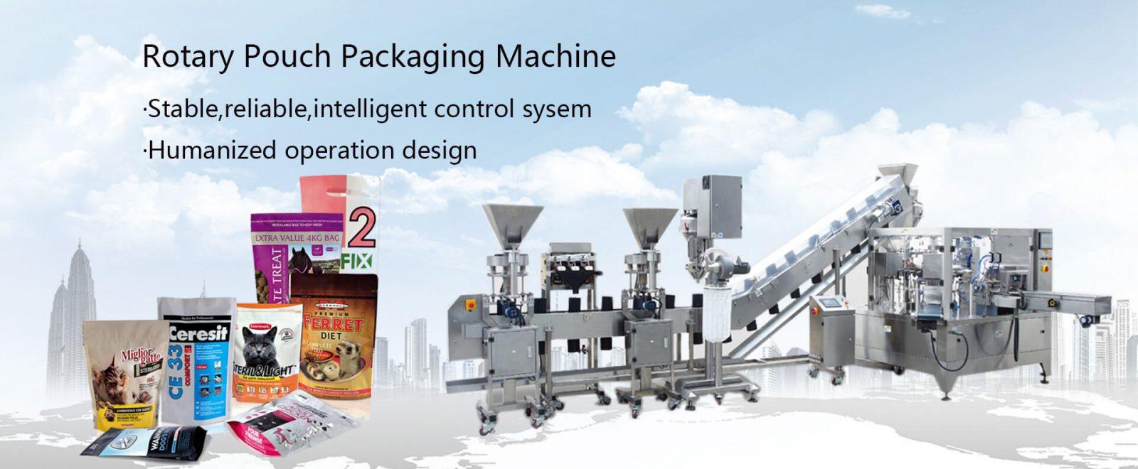 Rotary Beutelverpackungsmaschine