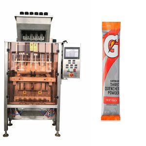 Kleine Sachets Powde Mehrlinien-Verpackungsmaschine