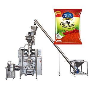 VFFS Bagger Verpackungsmaschine mit Schneckenfüller für Paprika und Chilli Food Pulver