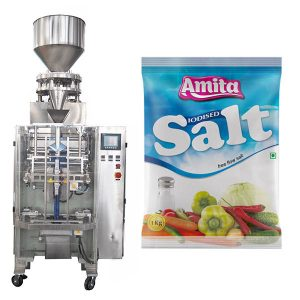 Vertikale automatische Kissen-Taschen-Salz-Verpackungsmaschine