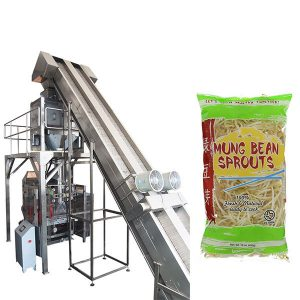 vollautomatische Wiegen Sojasprossen Verpackungsmaschine
